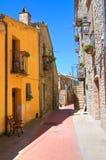 alleyway Guardia Perticara La Basilicata L'Italia Fotografie Stock Libere da Diritti
