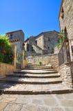 alleyway Guardia Perticara La Basilicata L'Italia Immagini Stock