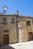alleyway Guardia Perticara La Basilicata L'Italia Immagini Stock Libere da Diritti