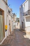 alleyway Laterza La Puglia L'Italia Fotografia Stock