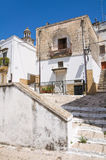 alleyway Laterza La Puglia L'Italia Immagini Stock