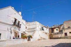 alleyway Laterza La Puglia L'Italia fotografie stock libere da diritti