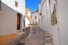 alleyway Laterza La Puglia L'Italia Fotografie Stock