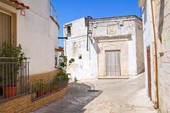 alleyway Laterza La Puglia L'Italia Immagine Stock Libera da Diritti