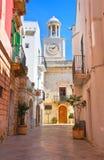 alleyway Locorotondo La Puglia L'Italia Immagini Stock