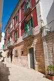 alleyway Locorotondo La Puglia L'Italia Immagine Stock Libera da Diritti