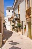 Alleyway. Locorotondo. Puglia. Italy. Stock Image