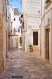Alleyway. Locorotondo. Puglia. Italy. Stock Photos