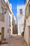 Alleyway. Locorotondo. Puglia. Italy. Stock Photography