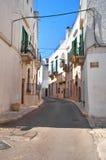 Alleyway. Locorotondo. Puglia. Italy. Stock Photography