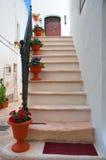 Alleyway. Locorotondo. Puglia. Italy. Stock Images