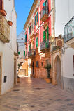 Alleyway. Locorotondo. Puglia. Italy. Royalty Free Stock Images