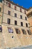alleyway Macerata La Marche L'Italia Immagine Stock