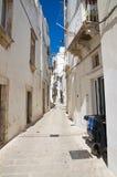 Alleyway. Martina Franca. La Puglia. L'Italia. Immagine Stock