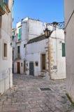 Alleyway. Martina Franca. La Puglia. L'Italia. Immagine Stock Libera da Diritti