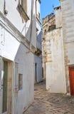 Alleyway. Martina Franca. La Puglia. L'Italia. Fotografia Stock Libera da Diritti