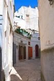 Alleyway. Martina Franca. La Puglia. L'Italia. Immagini Stock