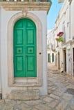alleyway Martina Franca La Puglia L'Italia Fotografia Stock Libera da Diritti