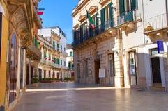 alleyway Martina Franca Puglia Italië stock afbeeldingen