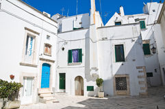 Alleyway. Martina Franca. Puglia. Italy. Royalty Free Stock Photo