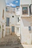 Alleyway. Martina Franca. Puglia. Italy. Royalty Free Stock Photography