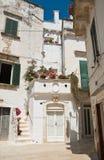 Alleyway. Martina Franca. Puglia. Italy. Royalty Free Stock Image