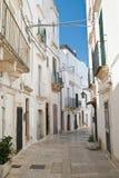 Alleyway. Martina Franca. Puglia. Italy. Stock Image