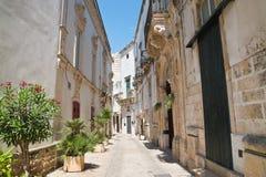 Alleyway. Martina Franca. Puglia. Italy. Stock Photos