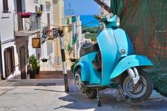 Alleyway. Mattinata. Puglia. Italy. Royalty Free Stock Image