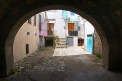Alleyway. Melfi. Basilicata. Italy. Royalty Free Stock Photo