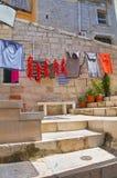 alleyway Minervino Murge La Puglia L'Italia Immagine Stock
