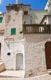 alleyway Minervino Murge La Puglia L'Italia Fotografia Stock Libera da Diritti