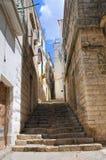 alleyway Minervino Murge La Puglia L'Italia Fotografie Stock Libere da Diritti