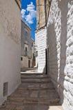 alleyway Minervino Murge La Puglia L'Italia Fotografia Stock