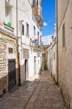 alleyway Minervino Murge La Puglia L'Italia Immagini Stock