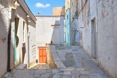 alleyway Minervino Murge La Puglia L'Italia Fotografie Stock