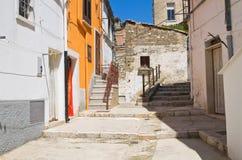 alleyway Minervino Murge Puglia Italia Fotos de archivo libres de regalías