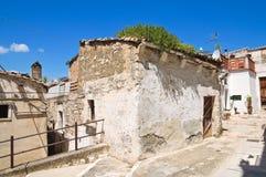 alleyway Minervino Murge Puglia Italia Fotos de archivo