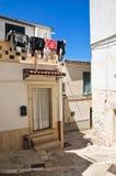 alleyway Minervino Murge Puglia Italia Imagen de archivo