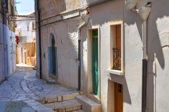 alleyway Minervino Murge Puglia Italia Fotografía de archivo
