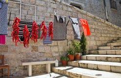 alleyway Minervino Murge Puglia Italia Foto de archivo