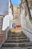 alleyway Minervino Murge Puglia Italia Imagenes de archivo
