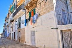 Alleyway. Minervino Murge. Puglia. Italy. Royalty Free Stock Photos