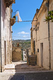 Alleyway. Minervino Murge. Puglia. Italy. Royalty Free Stock Photography