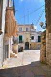 Alleyway. Minervino Murge. Puglia. Italy. Stock Photography