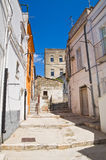Alleyway. Minervino Murge. Puglia. Italy. Stock Photography