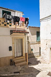 Alleyway. Minervino Murge. Puglia. Italy. Stock Image