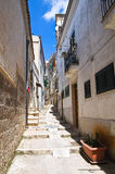 Alleyway. Minervino Murge. Puglia. Italy. Stock Photo