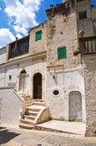Alleyway. Minervino Murge. Puglia. Italy. Royalty Free Stock Photos