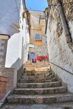 Alleyway. Minervino Murge. Puglia. Italy. Stock Images